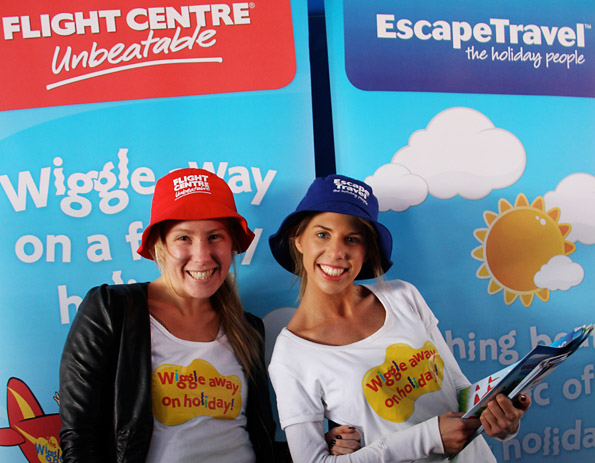 Flight Centre Wiggles Holiday Promotion