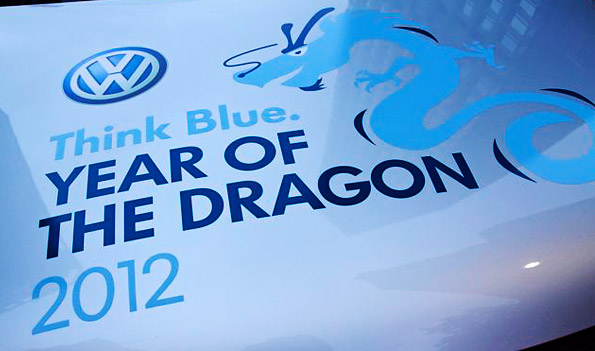 VW Think Blue - Chinese New Year