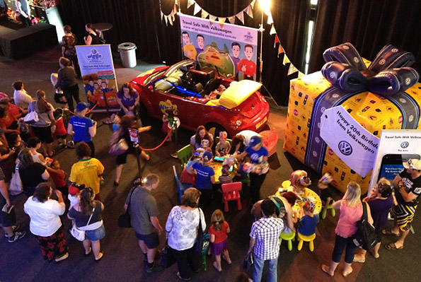 Volkswagen - Wiggles Big Birthday Tour